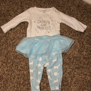 Tutu long sleeve shirt outfit